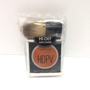 Menaji HDPV Anti-Shine Powder w/ Kabuki Brush
